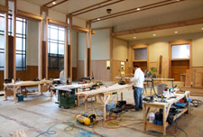 quality remodel of church in Eugene Oregon