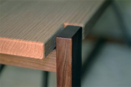 narrow table close